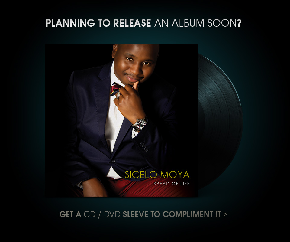 CD DVD Designs Nelspruit | Album CD Cover Designs South Africa | DVD